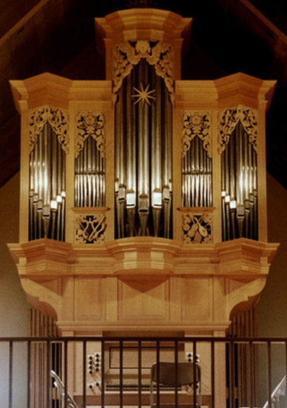 Fritts pipe organ, Grace Lutheran, Tacoma