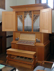 Fritts pipe organ, Eastman School of Music, Rochester, New York