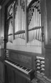Fritts pipe organ, Memorial Church at Stanford University