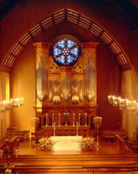 Rosales pipe organ, Trinity Episcopal Cathedral, Portland, Oregon