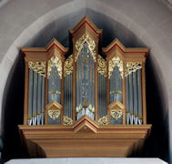 Fritts pipe organ, St Marks, Seattle, WA