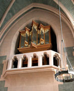 Fritts pipe organ, St Marks, Seattle, Washington